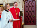The Rev. Jackie Kirby installed as Chaplain